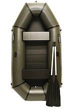Надувная резиновая лодка Grif boat GL-240S для рыбалки и охоты на воде (220607)