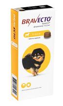 Жувальна таблетка BRAVECTO (Бравекто) від бліх та кліщів для собак 2-4,5 кг, 1 табл. 112,5 мг