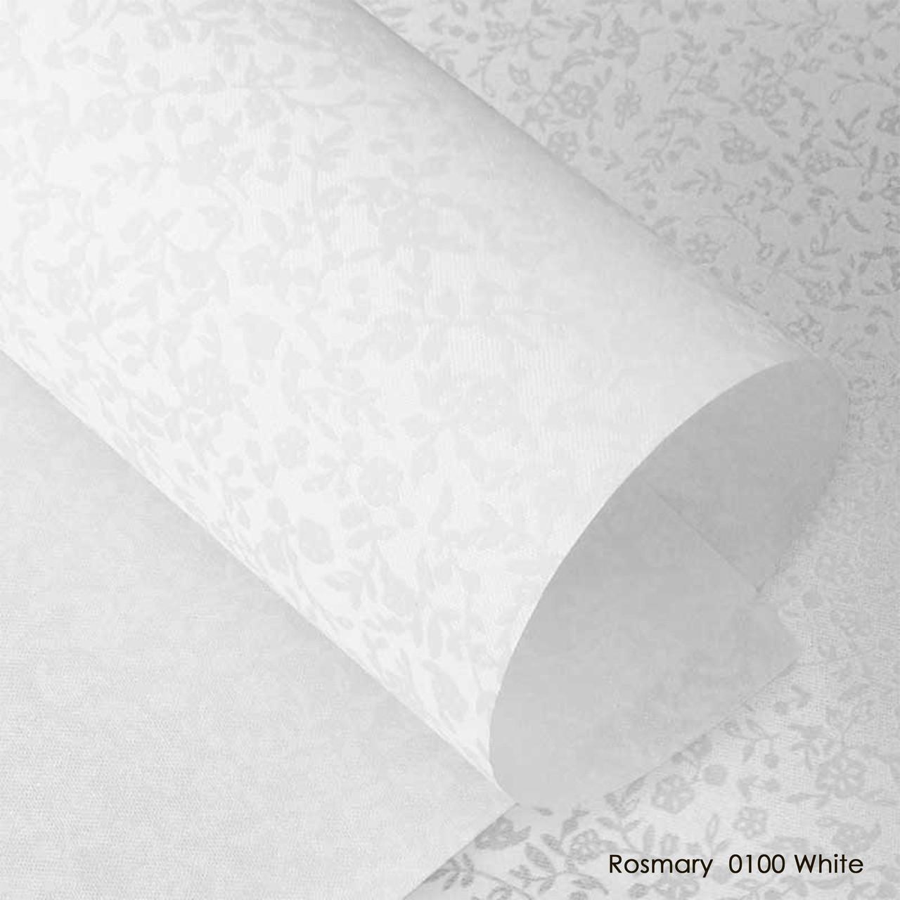 Тканинні ролети Rosmary 0100 White