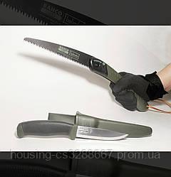 Набор туристический складная ножовка и нож Bahco Lap-Knife