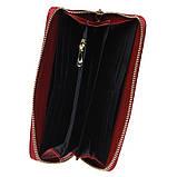 Женский кожаный кошелек Keizer K12707-red, фото 6