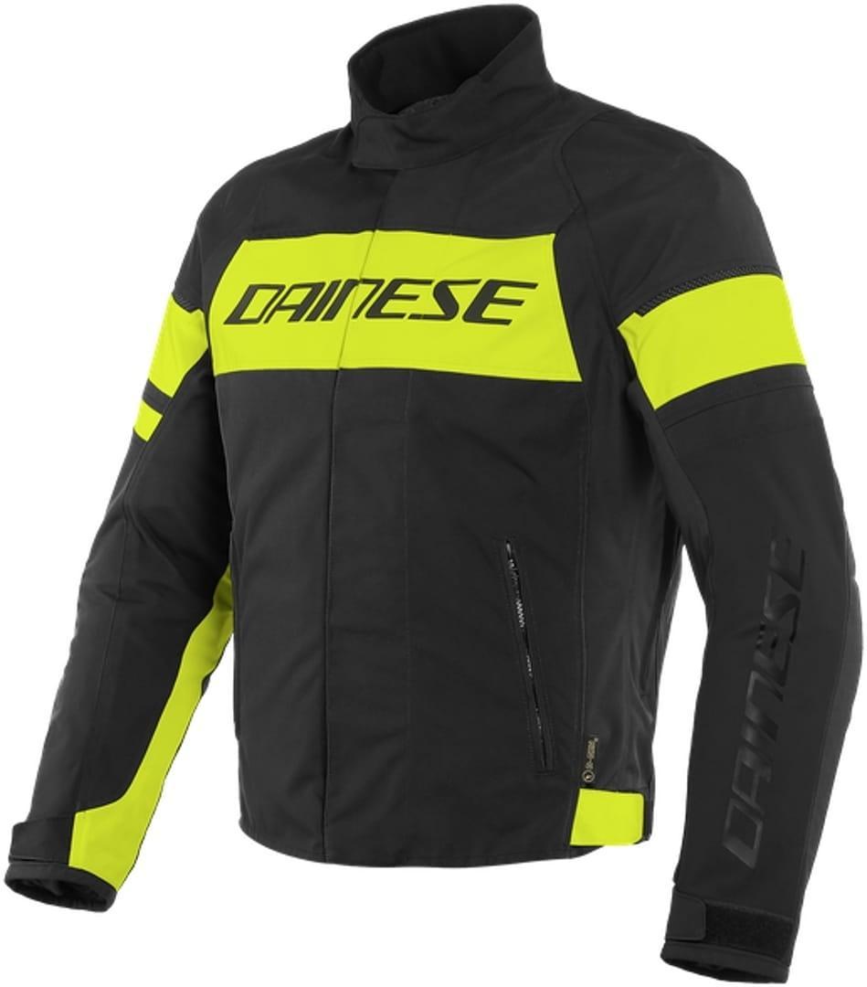 Мотокуртка Dainese Saetta D-Dry Black/Yellow