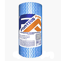 Салфетки одноразовые Голубая Волна 25х30 см (100 шт/рул). Текстура: сетка. В рулоне