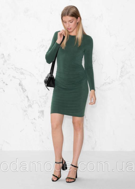 Женское платье & Other Stories зеленое