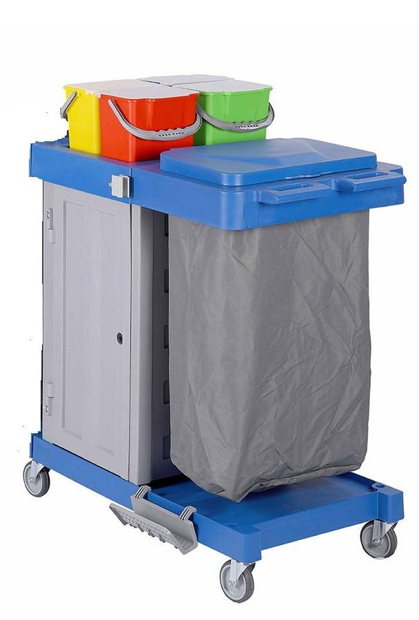 Тележка для уборки Bayersan модульного типа с контейнером BR  EO S1