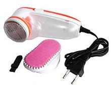 Машинка для удаления снятия катышков с одежды и мебели от сети 220 В Gemei GM 230 Белый/оранжевый (258701)