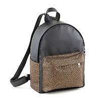 Рюкзак Fancy чорний флай з срібним узором_склад_а, фото 1