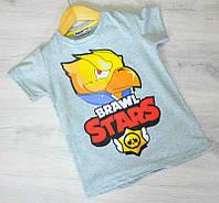Футболка для мальчика,детская футболка, рост 116-122