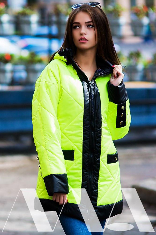 Женская куртка плащёвка на синтепоне