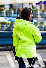 Женская куртка плащёвка на синтепоне , фото 2