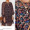 Лёгкое шифоновое платье в цветочек, фото 4