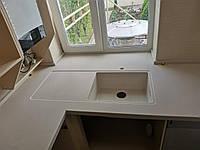 Столешница кухонная (цена за литую мойку 2400грн./шт.)