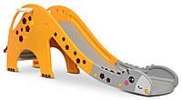 Детская горка Girafe c баскетбольным кольцом Оранжевый