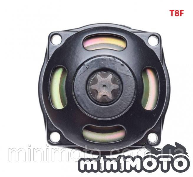 Колокол сцепления (метал) с звездой 6z T8F минимото, детский квадроцикл 50-60сс 2Т