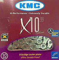 Цепь KMC X10.99 Silver 116l
