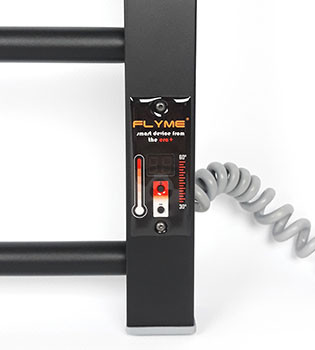 Терморегулятор в полотенцесушителе Flyme Black–9