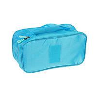 Дорожный органайзер для белья и косметики, голубой, фото 1
