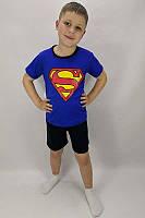 """Летний детский костюм футболка и шорты для мальчика """"Супермен"""""""