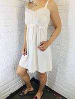Женская ночная сорочка хлопок пудровый 503/504 42-46