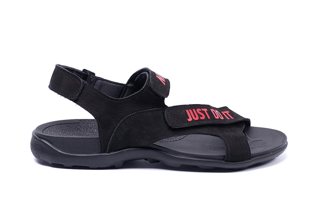 Мужские кожаные сандалии Nike Just Do It
