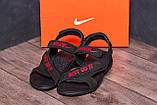 Мужские кожаные сандалии Nike Just Do It, фото 7
