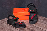 Мужские кожаные сандалии Nike Just Do It, фото 8