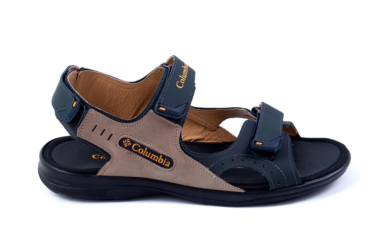 Мужские кожаные сандалии Columbia Track Late .