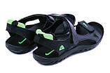Чоловічі шкіряні сандалі Nike NS green ., фото 6