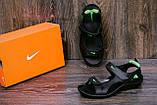 Чоловічі шкіряні сандалі Nike NS green ., фото 8