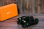Чоловічі шкіряні сандалі Nike NS green ., фото 9