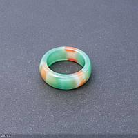 Кольцо из натурального камня гладкое Бразильский Агат h-10мм b-3,6мм d-20мм купить оптом в интернет магазине