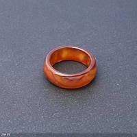 Кольцо из натурального камня Агат граненное h-9мм b-3,5мм d-19-20мм купить оптом в интернет магазине