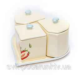 Набор для кухни 550484 3 предмета керамика