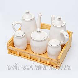 Набор для кухни 550922 5 предметов керамика