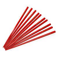 Палочки для суши красные с золотыми рыбками 5 пар 07