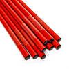 Палочки для суши красные с золотыми рыбками 5 пар 07, фото 3