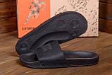 Мужские кожаные  летние шлепанцы Philipp Plein New Line  Black ., фото 9