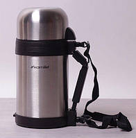 Хороший Термос с кружкой для чая и кофе металлический - 1 л Kamille KM2123