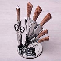 Набор кухонных ножей на акриловой подставке Kamille KM5048