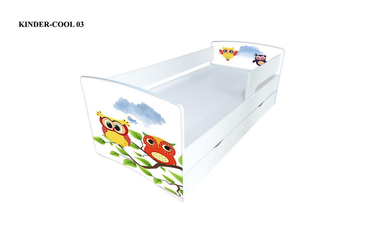 Детская  кровать Киндер-Кул 3. Виорина Деко.