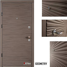 Дверь входная металлическая Straj, Berez Premium , Брезза, Софт Грей, 850×2040, Левая