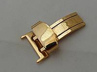 Универсальная застежка бабочка к кожаным ремешкам