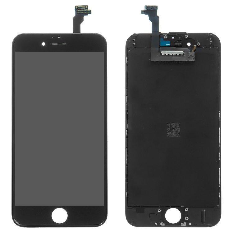 Дисплей (LCD) iPhone 6 (4.7) с сенсором чёрный