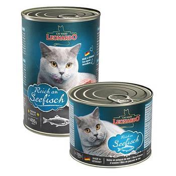 Консерва Leonardo (Леонардо) Fish для котов с рыбой, 0,4 кг