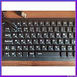 Силиконовая клавиатура черная, фото 7