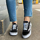 Женские черные кроссовки, обувной текстиль, фото 2