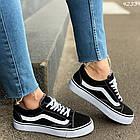 Женские черные кроссовки, обувной текстиль, фото 3