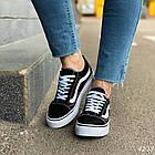Женские черные кроссовки, обувной текстиль, фото 5