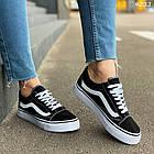 Женские черные кроссовки, обувной текстиль, фото 4
