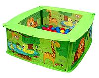 """Детский сухой бассейн для малыша с шариками """"Мягкий игровой модуль"""" Bino"""